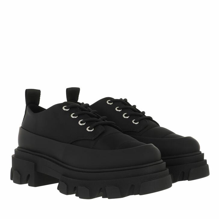 Schuh, GANNI, Loafers Nylon Black