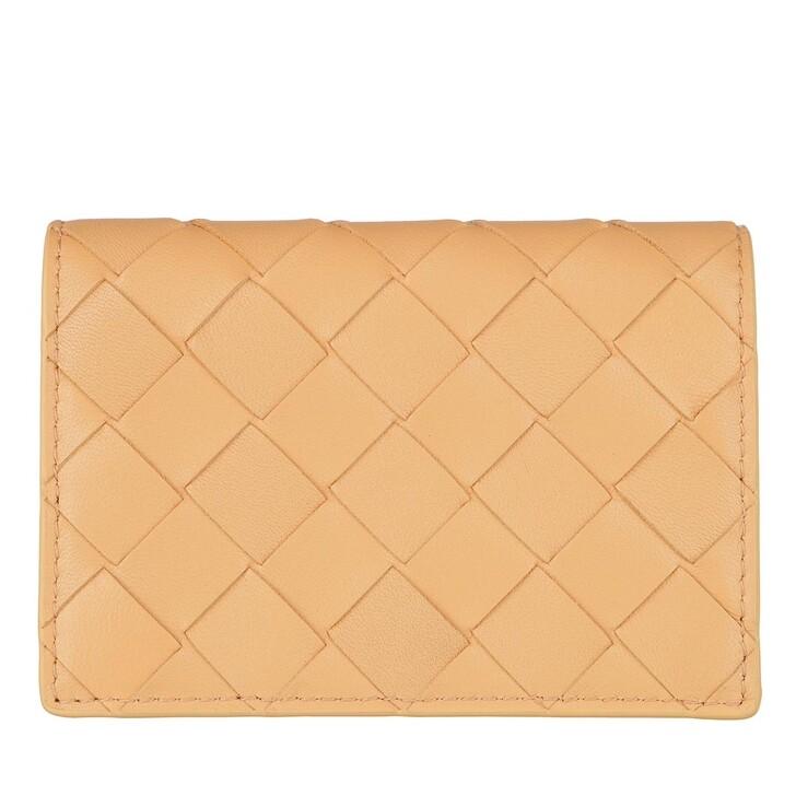 Geldbörse, Bottega Veneta, Card Holder Almond