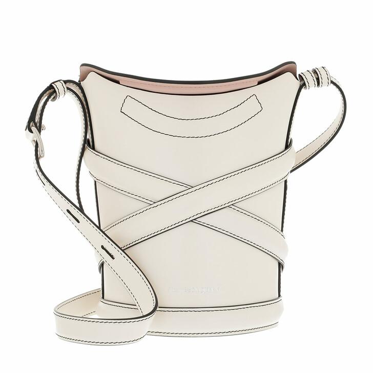 bags, Alexander McQueen, The Curve Crossbody Bag White