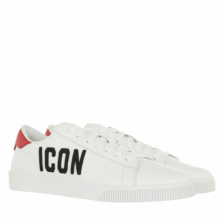shoes, Dsquared2, Icon Sneakers White