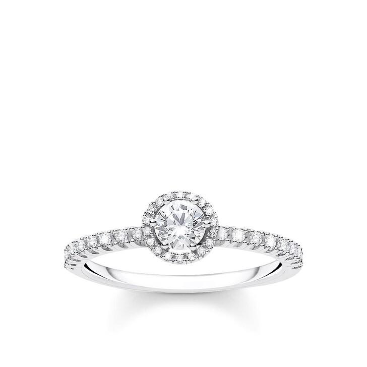 Ring, Thomas Sabo, Ring White Stones Pearl White