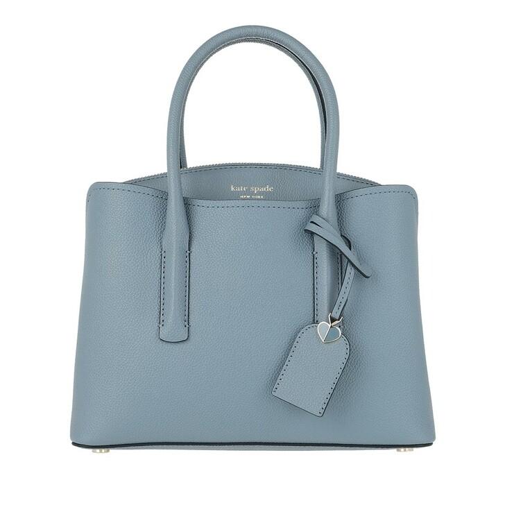 bags, Kate Spade New York, Margaux Medium Satchel Bag Swordfish