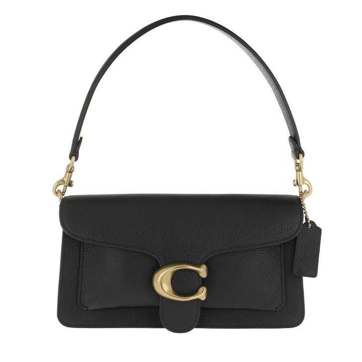 Handtasche, Coach, Polished Pebble Leather Tabby Shoulder Bag 26 B4/Black 2