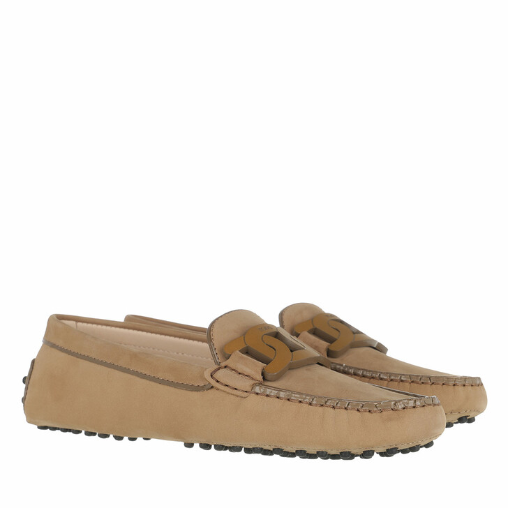 Schuh, Tod's, Buckled Loafer Brown