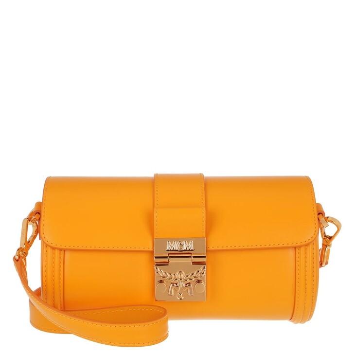 Handtasche, MCM, Small Tracy Crossbody Bag Yellow