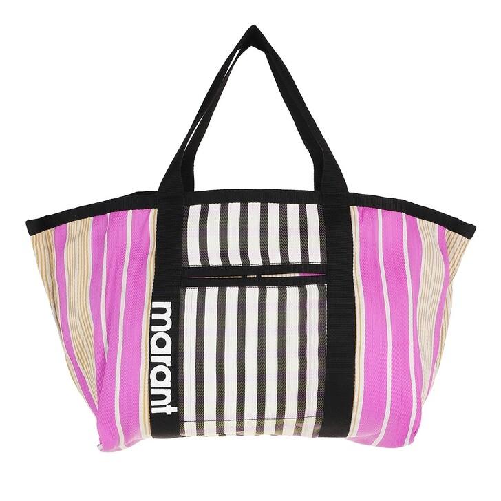 bags, Isabel Marant, Warden Shopper Black/Pink