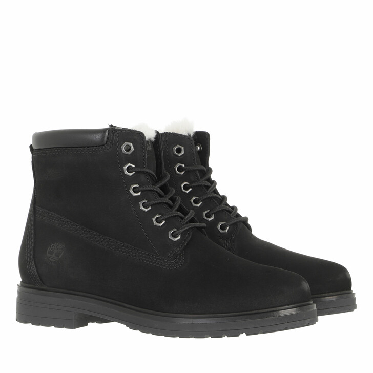 shoes, Timberland, Hannover Hill Fur Lined Waterproof Boot Black