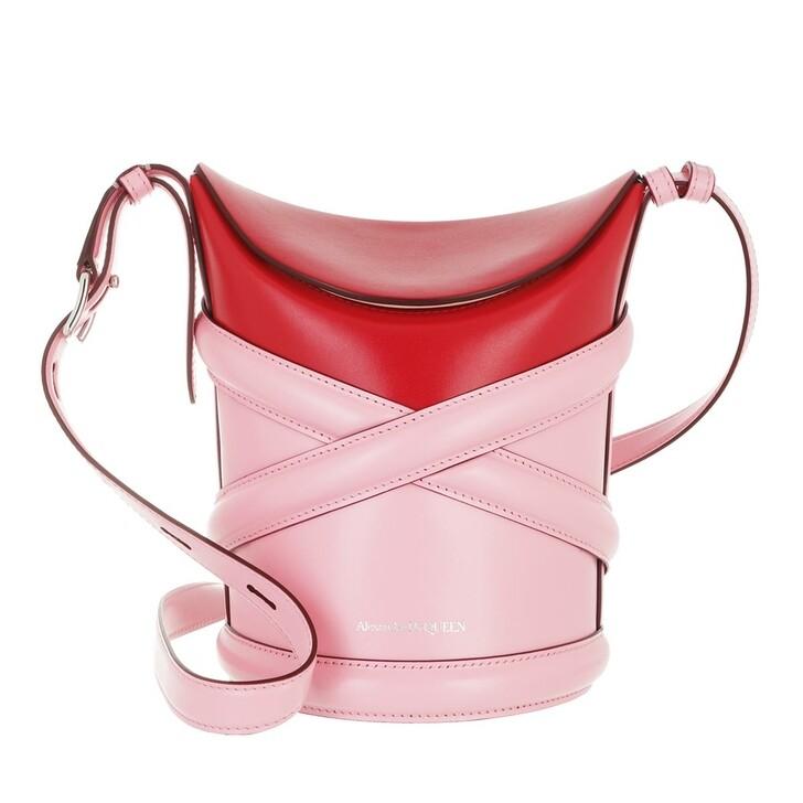 bags, Alexander McQueen, The Curve Crossbody Bag Pink