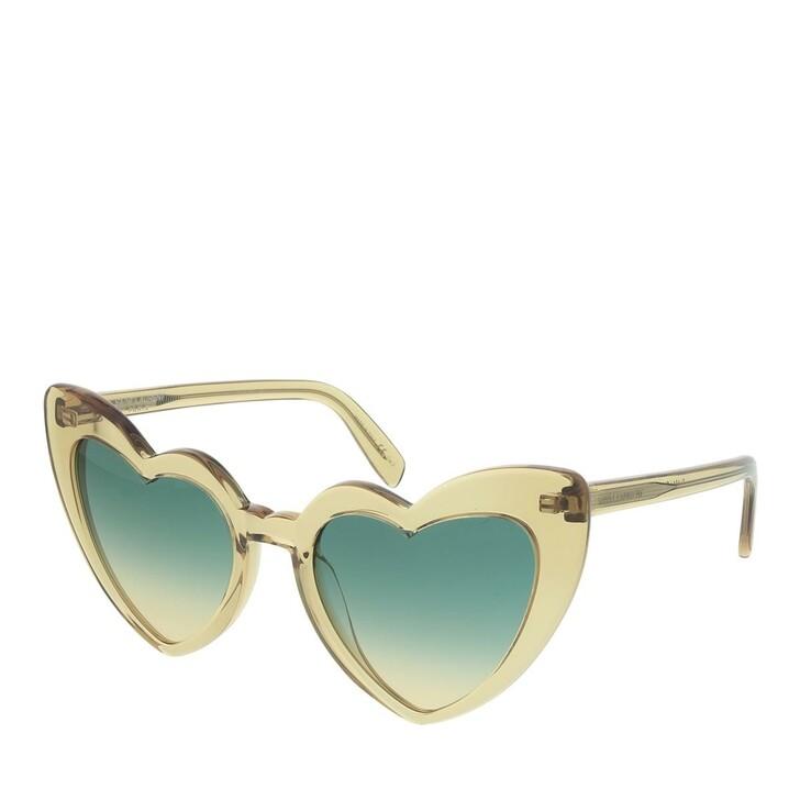 Sonnenbrille, Saint Laurent, SL 181 LOULOU-017 54 Sunglasses Woman Yellow