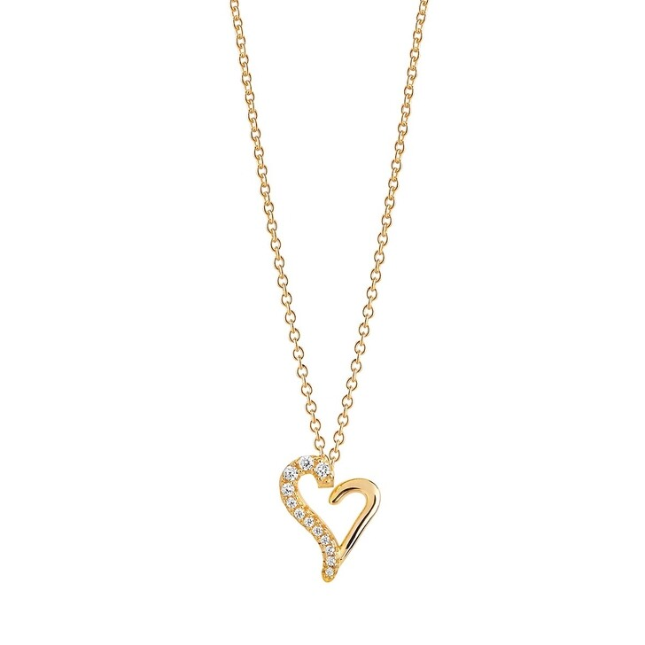 Kette, Sif Jakobs Jewellery, VALENTINE NECKLACE Gold