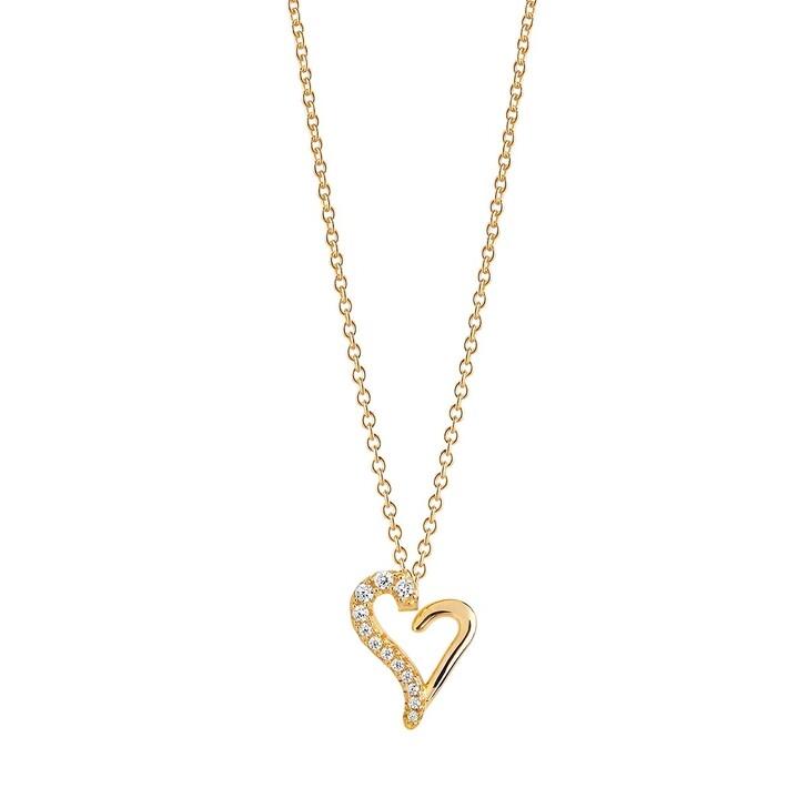 Kette, Sif Jakobs Jewellery, VALENTINE NECKLACE Gold