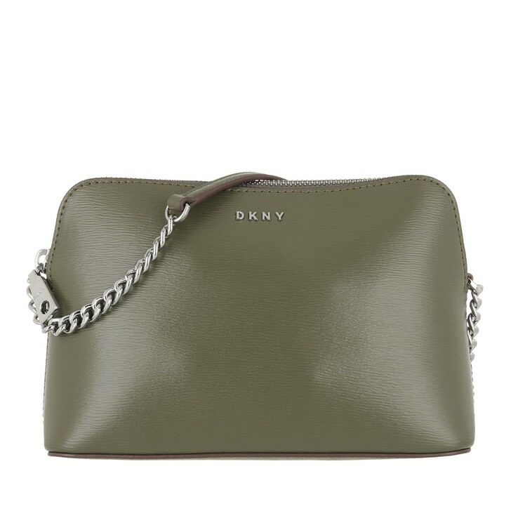 bags, DKNY, Bryant Dome Crossbody  Military Green