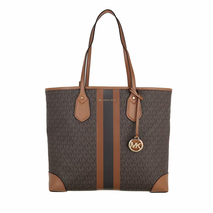 bags, MICHAEL Michael Kors, Large Tote Brown/Acorn