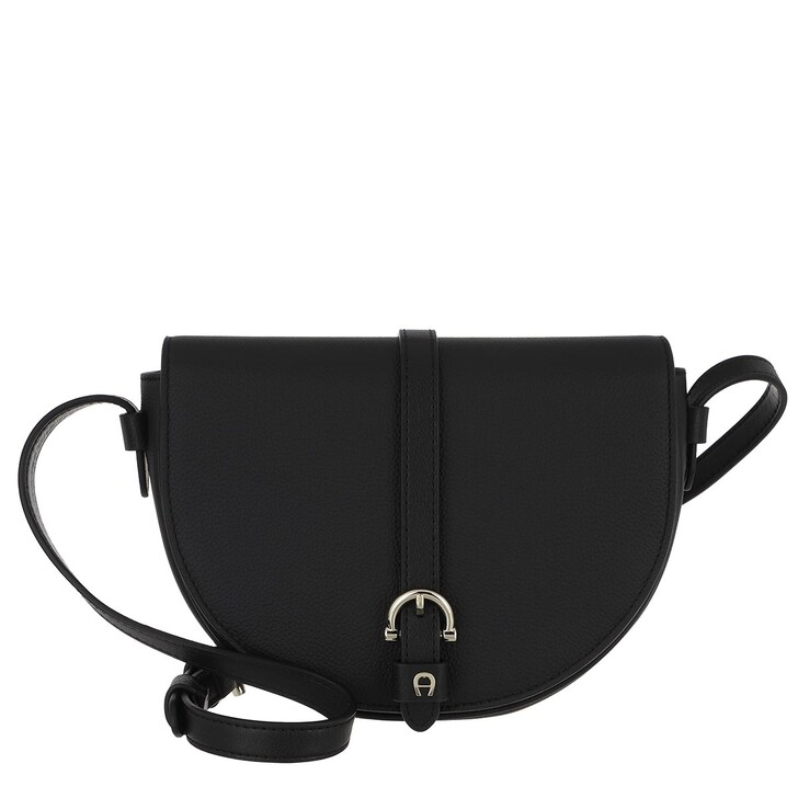 Handtasche, AIGNER, Adria Handle Bag Black
