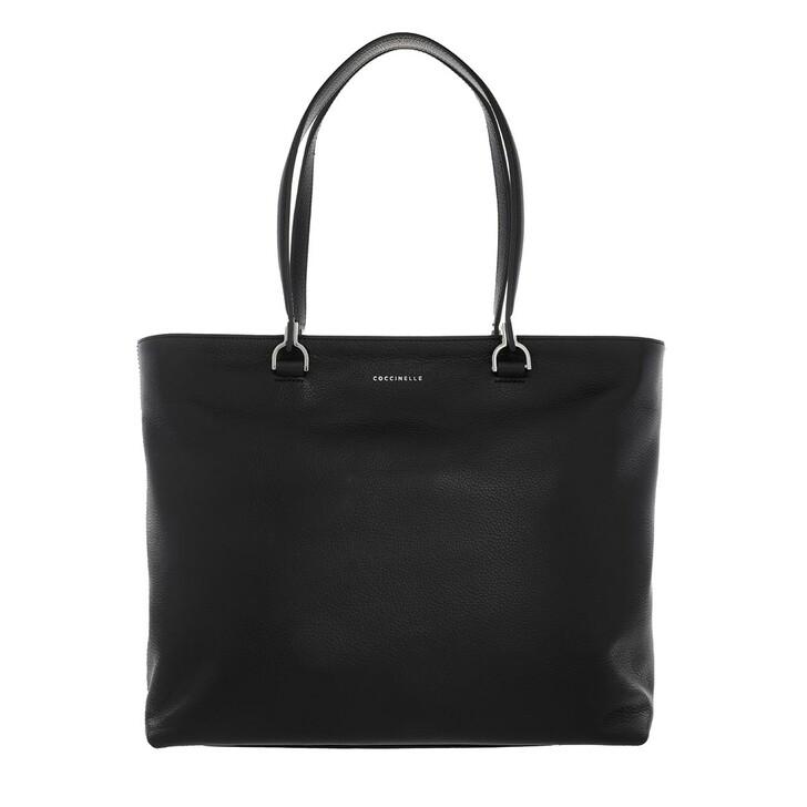 Handtasche, Coccinelle, Borsa Pelle Vitello  Noir