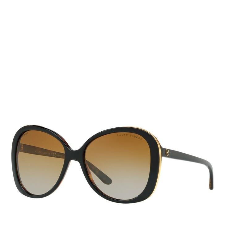 sunglasses, Ralph Lauren, 0RL8166 Shiny Black On Jerry Havana