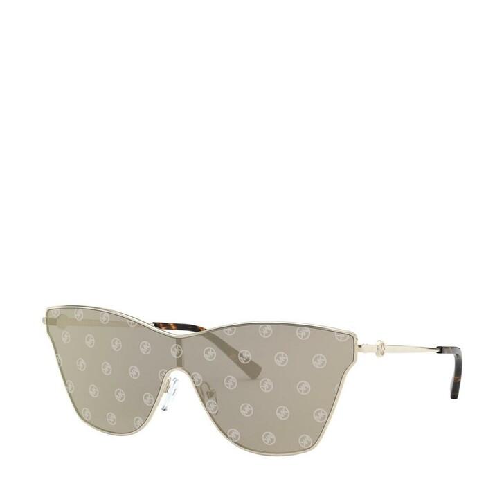 Sonnenbrille, Michael Kors, Women Sunglasses Sport Luxe Chic 0MK1063 Light Gold