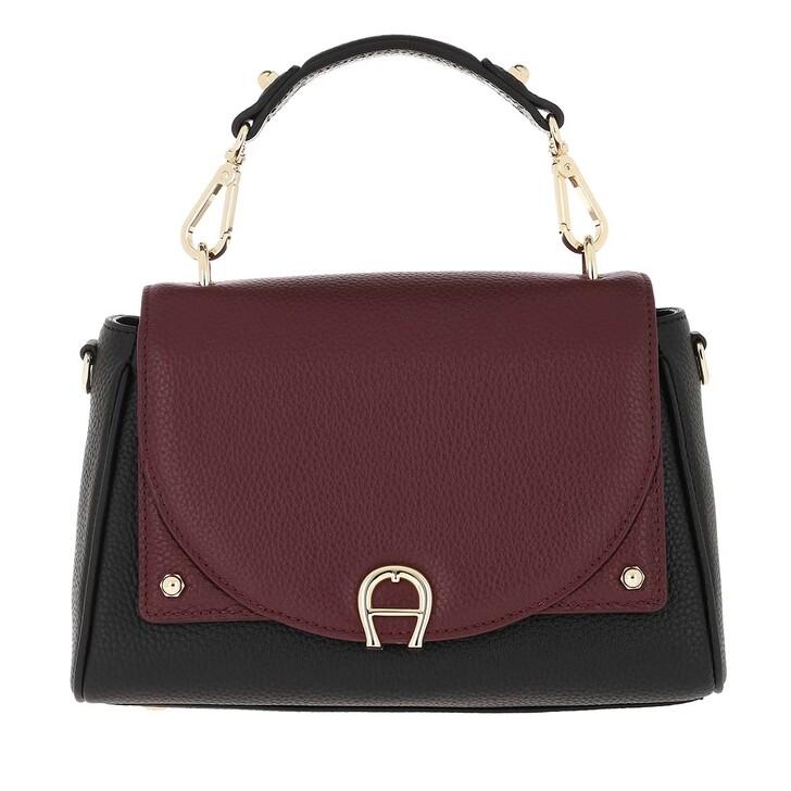 Handtasche, AIGNER, Handle Bag Diadora Burgundy