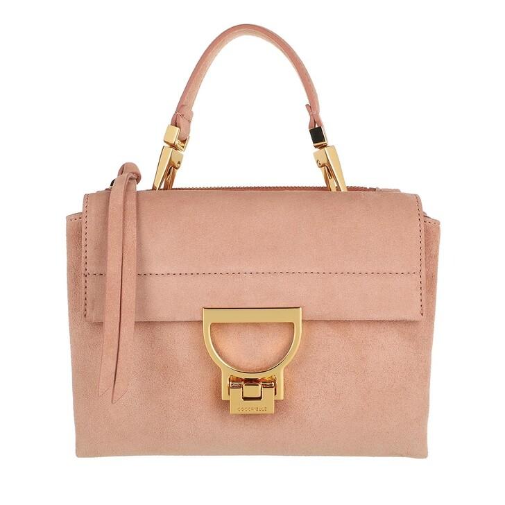 Handtasche, Coccinelle, Arlettis Suede Tote Bag Litchi