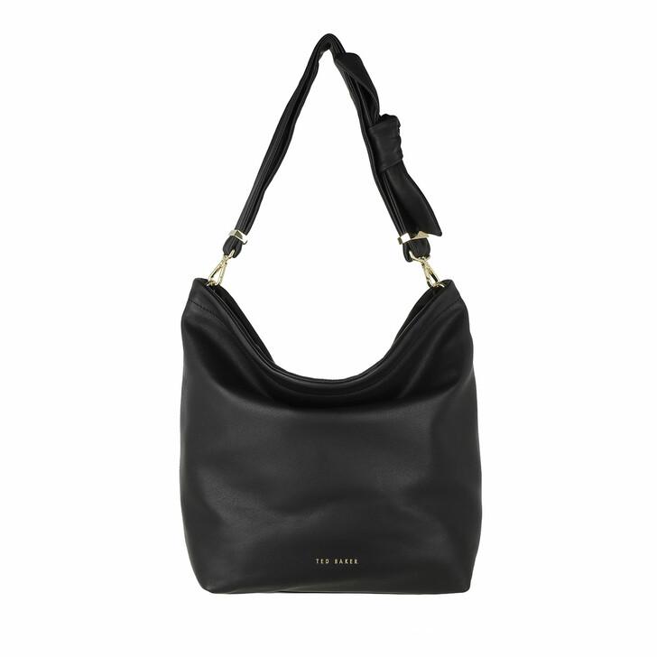 Handtasche, Ted Baker, Sofia Soft Knotted Hobo Bag Black
