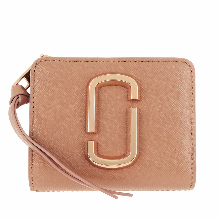 Geldbörse, Marc Jacobs, The Snapshot Mini Compact Wallet Sunkissed