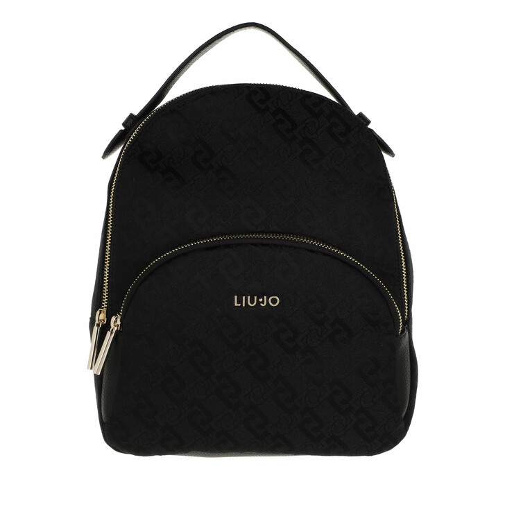 bags, LIU JO, M Backpack Black