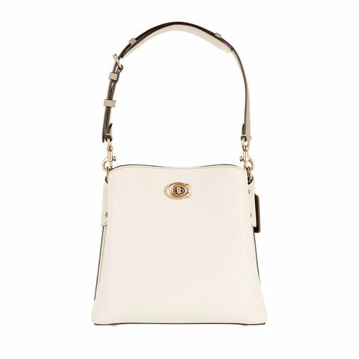 coach -  Beuteltasche - Colorblock Leather Willow Bucket Bag 21 - in beige - für Damen