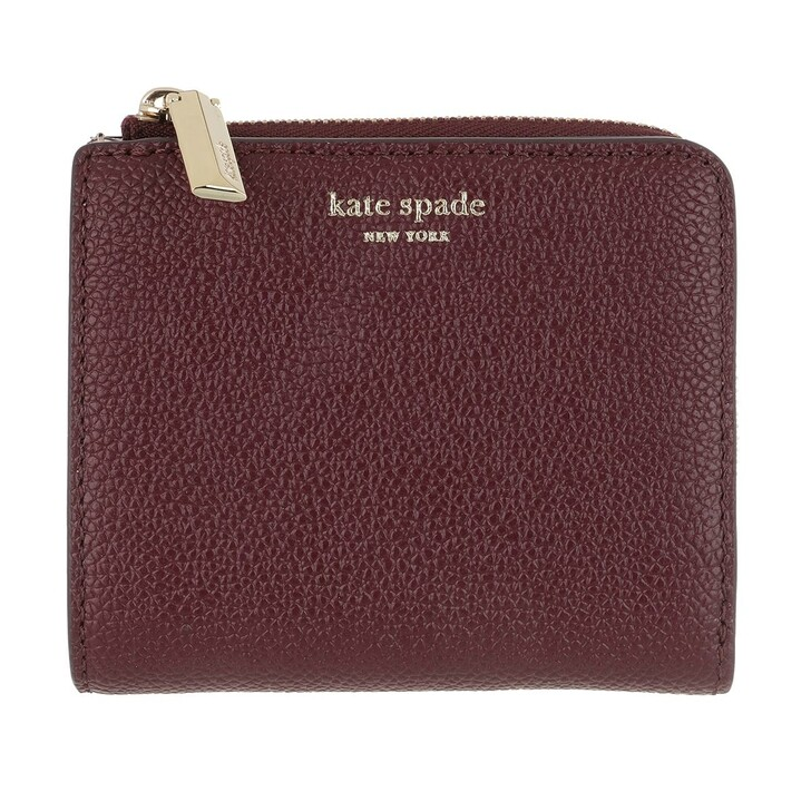 Geldbörse, Kate Spade New York, Small Bi Fold Wallet Deep Cherry