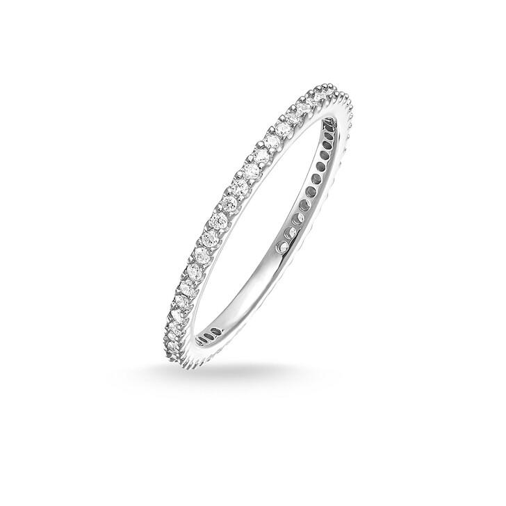 Ring, Thomas Sabo, Eternityring Pavé Silver
