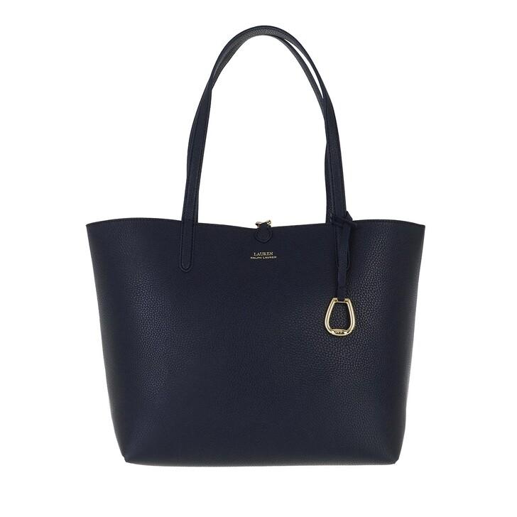 Handtasche, Lauren Ralph Lauren, Rvrsble Tote Tote Medium Lrn Nvy/Eqst Blt Lrn Nvy