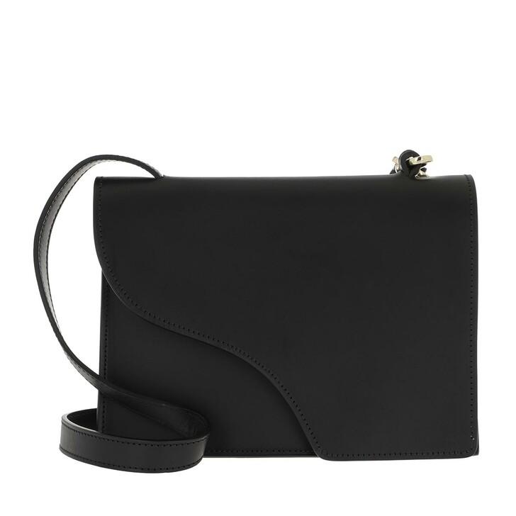 Handtasche, ATP Atelier, Crossbody Shoulder Bag Black