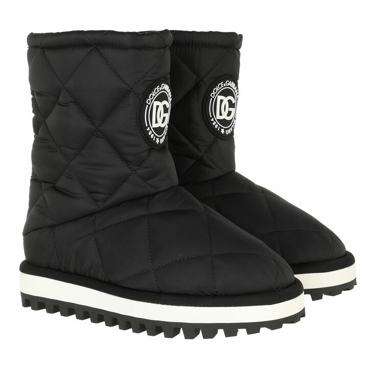 shoes, Dolce&Gabbana, Soft City Boots Black/White