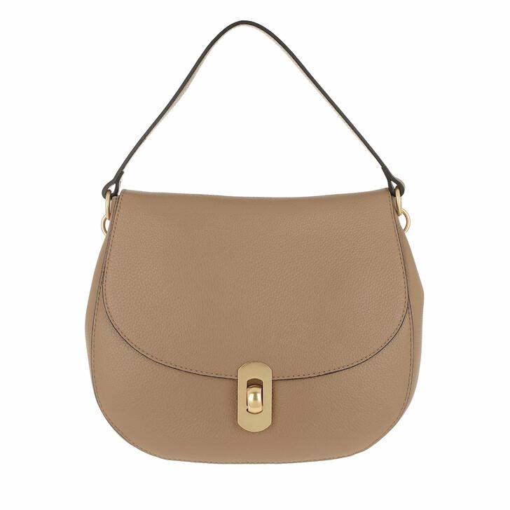 Handtasche, Coccinelle, Zaniah Hobo Bag Desert