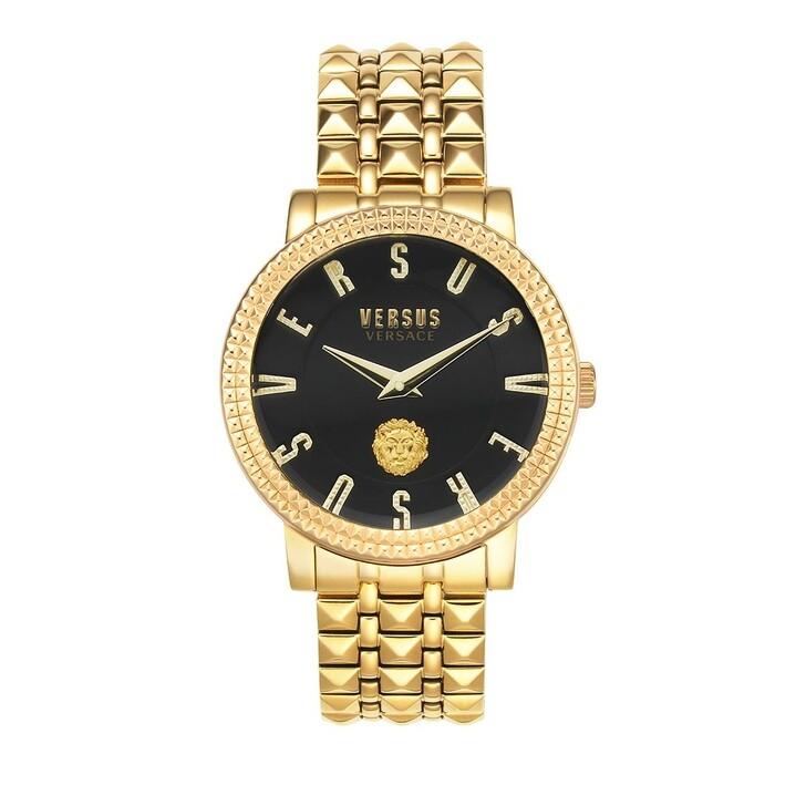 watches, Versus Versace, Pigalle Watch Yellow Gold