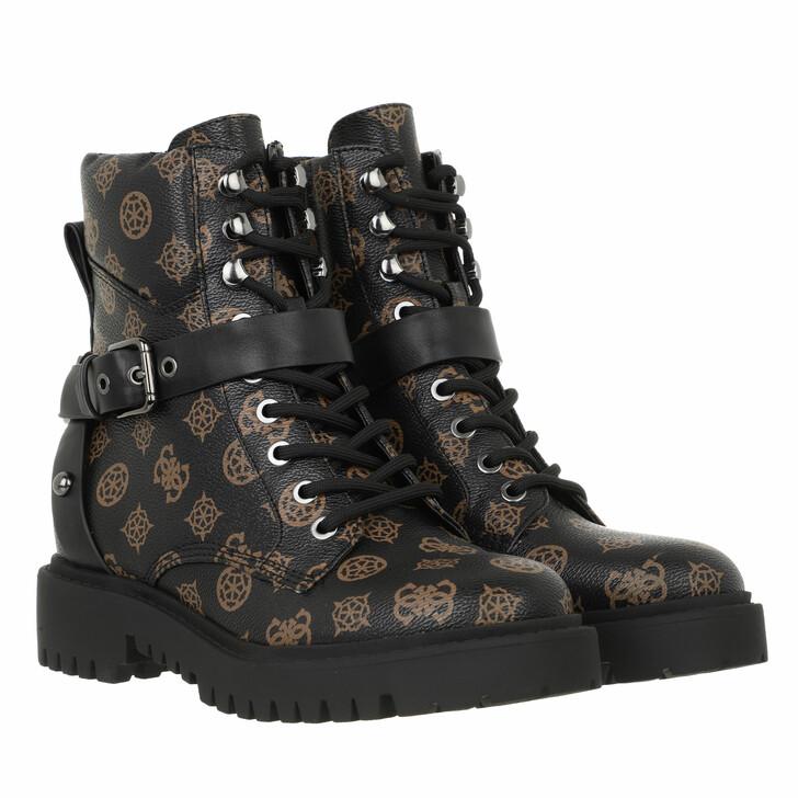 shoes, Guess, Ondina3 Brown Ocra