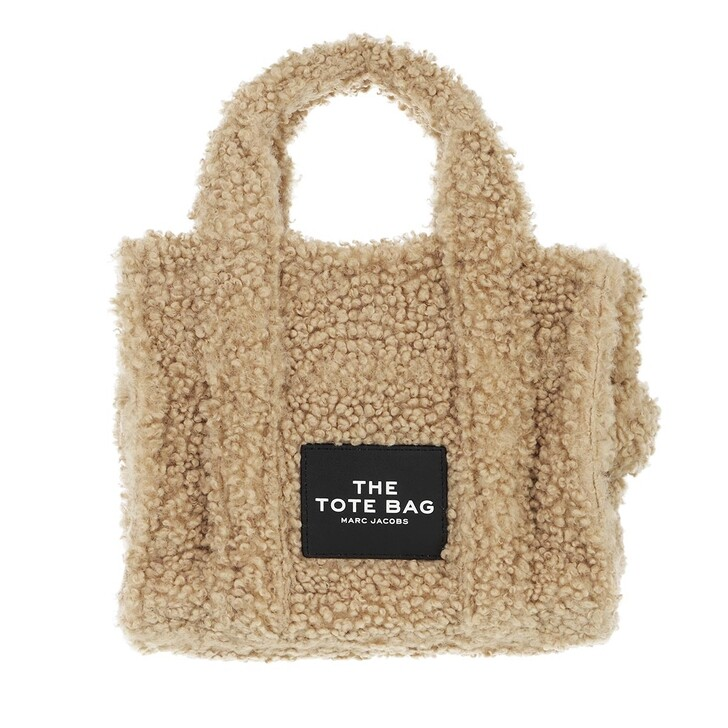 bags, Marc Jacobs, Mini Traveler Teddy Tote Bag Beige