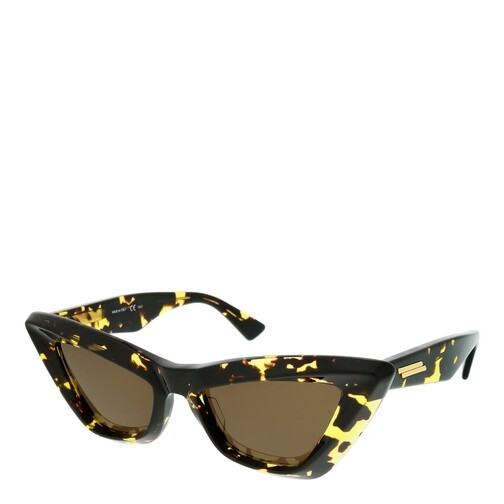 bottega veneta -  Sonnenbrille - BV1101S-002 53 Sunglass WOMAN ACETATE - in cognac - für Damen
