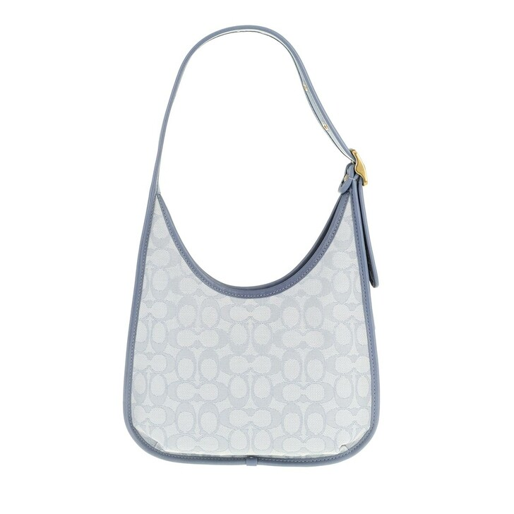 Handtasche, Coach, The Coach Originals Signature Jacquard Coach Ergo  Marble Blue Azure