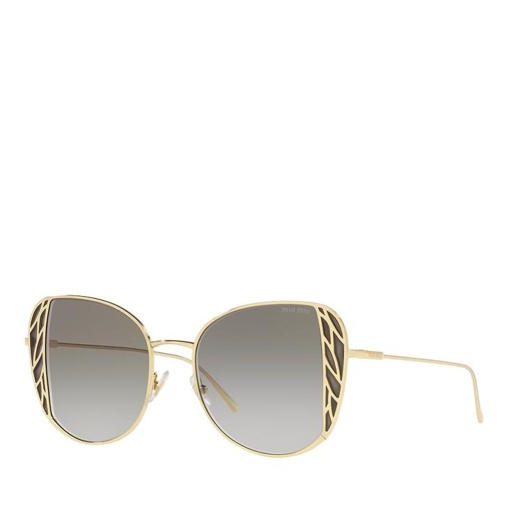 sunglasses, Miu Miu, 0MU 57XS GOLD