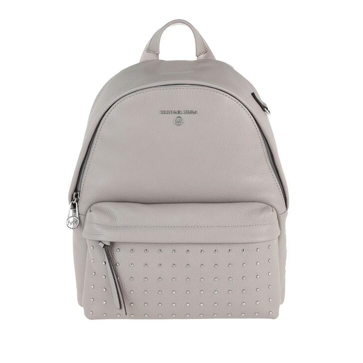 Reisetasche, MICHAEL Michael Kors, Slater Medium Backpack Pearl Grey