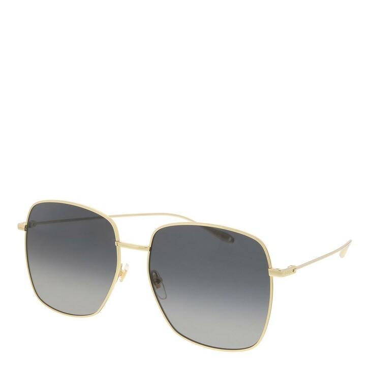 sunglasses, Gucci, GG1031S-001 59 Sunglass Woman Metal Gold-Gold-Grey