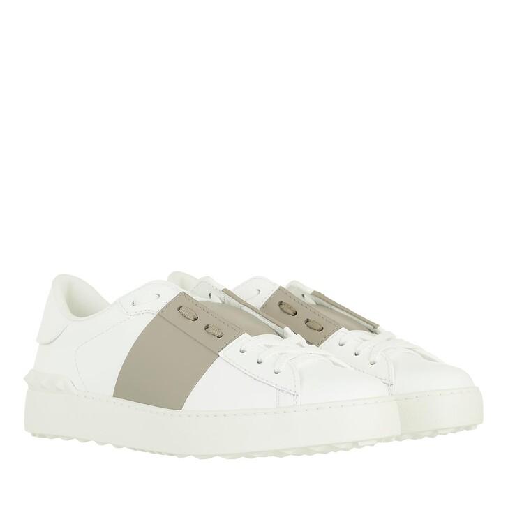 shoes, Valentino Garavani, Open Sneaker White/Taupe