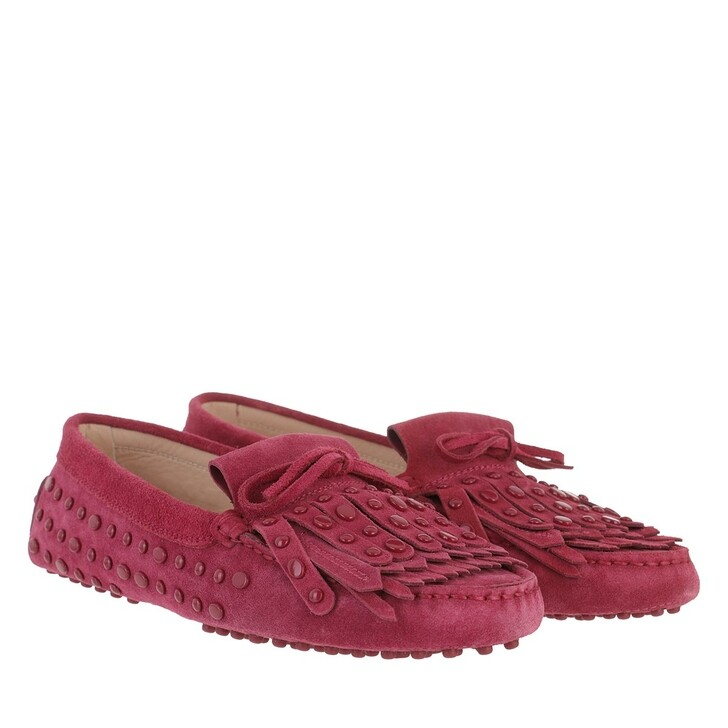 Schuh, Tod's, Loafers Leather Dragonfruit