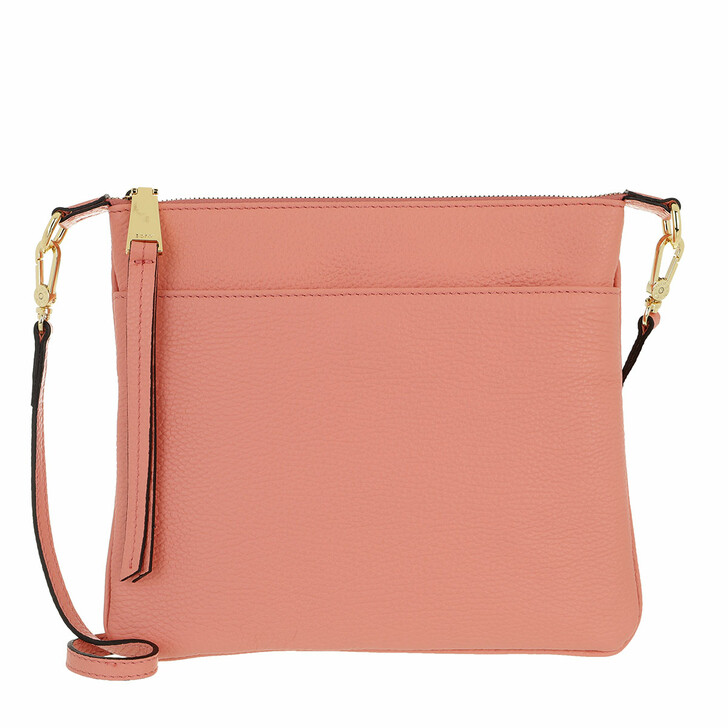 Handtasche, Abro, Crossbody Bag Onefold Salmon