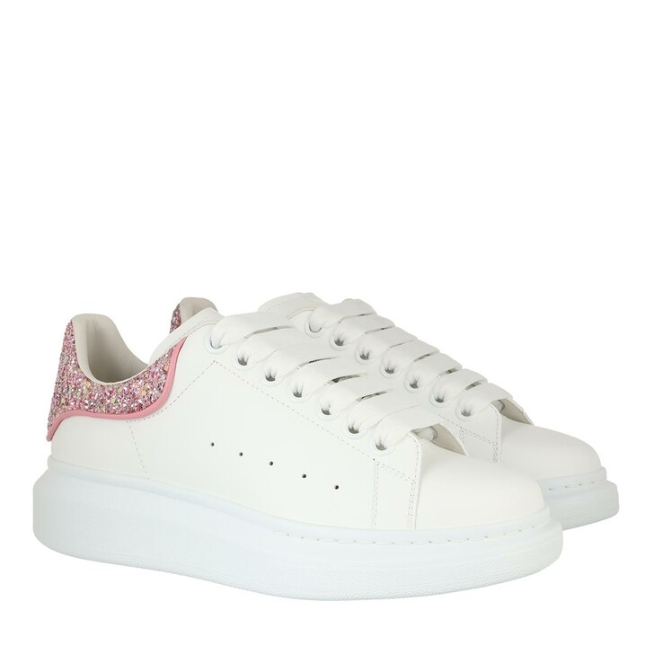 shoes, Alexander McQueen, Oversized Sneakers White Rose