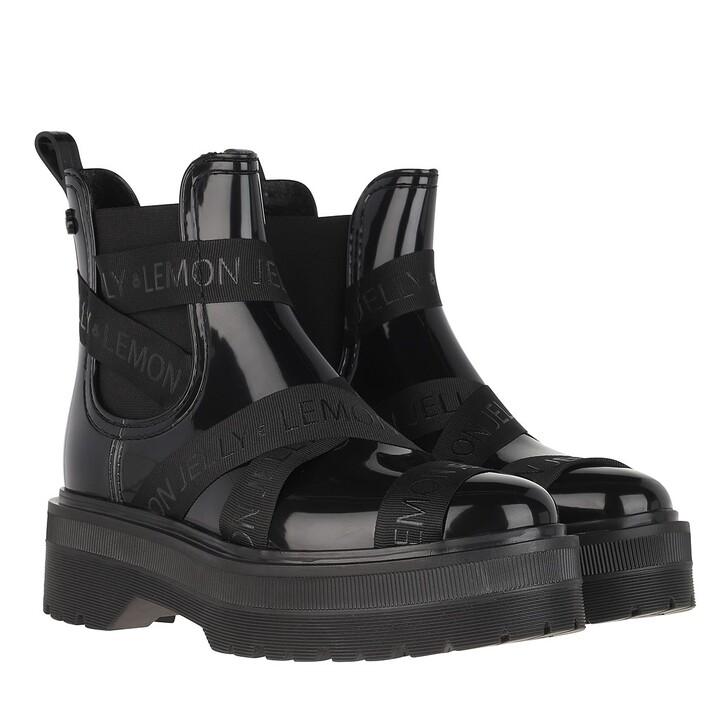 shoes, Lemon Jelly, Francesca Boots Black