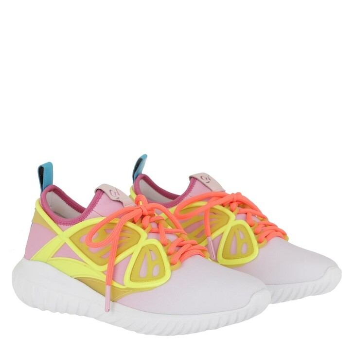 Schuh, Sophia Webster, Fly-By Sneaker Pink & White
