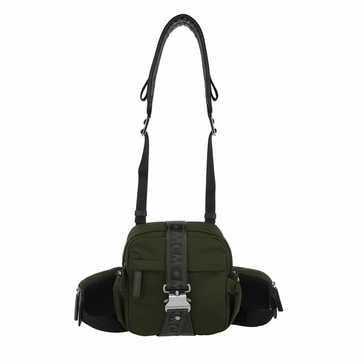Handtasche, MCM, Jemison Crossbody Small  Loden Green