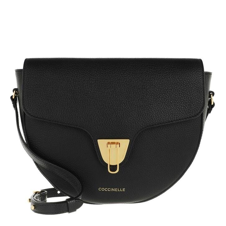 Handtasche, Coccinelle, Beat Soft Flap Crossbody Bag Noir