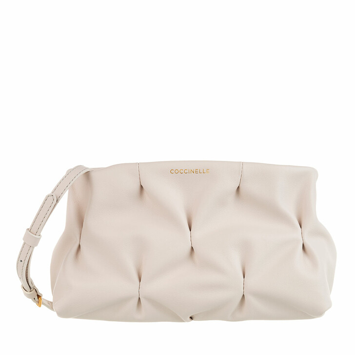 Handtasche, Coccinelle, Ophelie Goodie Bowling Bag Lambskin White